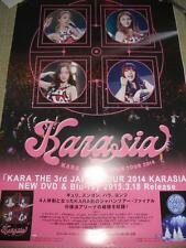 KARA [KARASIA 3rd JAPAN TOUR2014 ] Promo POSTER JAPAN LIMITED