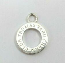 THOMAS SABO Charm Club Anhänger 925 Sterlingsilber rund für Kette Silber