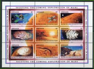 Grenada: 1991 Mars Exploration Mini-Sheet (2002) MNH