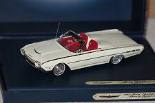 Ford thunderbird roadster sport blanc 1:43 Motorhead 522 NOUVEAU & OVP