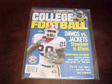 2006 Sporting News College Football Yearbook Thomas Brown Georgia Bulldogs Cover