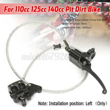 Right Hydraulic Front Brake Master Cylinder For Pit Dirt Bike ATV 110cc 125cc