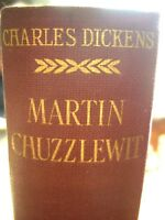 "Charles Dickens ""MARTIN CHUZZLEWIT "" by Chapman And Hall 1913"