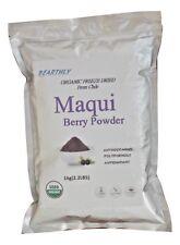 Bearthly Maqui Berry Powder 1 kilogram 2.2 lbs. 100% Organic , Freeze Dried