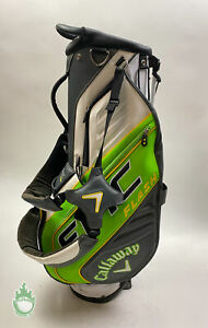 Used Callaway Epic Flash Stand Golf Cart Carry Bag 4-Way Divided with PGA Logo