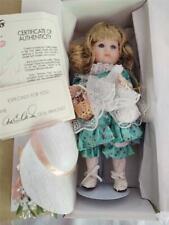 Knickerbocker Marie Osmond Miracle Children Cherish Girl Doll Porcelain New