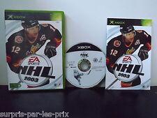NHL 2003 - Jeu XBOX Complet avec Notice