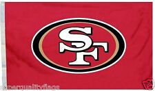 San Franciso 49ers 3x5 ft New red logo banner nfl au