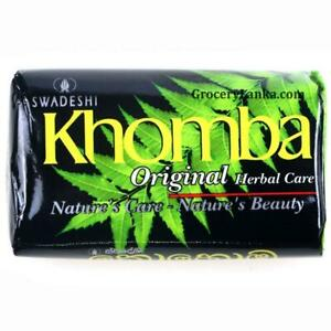 KHOMBA Natural Organic Beauty Soap Original Herbal Care from Sri Lanka