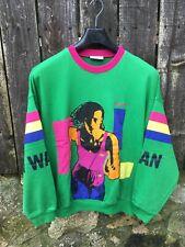 Vintage 1990s Adidas 'I Want I Can' Sweater L XL OG torsion Hong Kong zx 8000