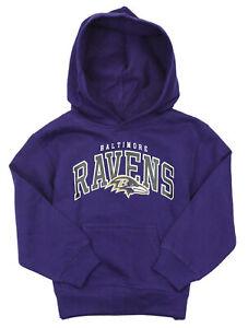 Baltimore Ravens NFL Kids Boys Promo Fleece Hoodie, Purple