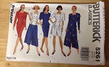 Butterick Classics Top, Skirt, Split Skirt #5261 12-16 Pattern UNCUT
