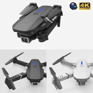 RC Foldable Drone Quadcopter With Wide Angle 4K HD FPV Dual Camera WiFi