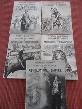 5 livres sur l'histoire de France  (ref 47)