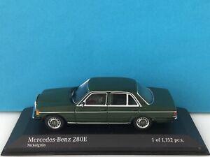 Minichamps 1:43 Mercedes-Benz 280 E 1976 Green Modell Nr: 430 032207