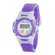 Niña Niño Reloj Infantil Niños Deportivo Electrónico Digital De Pulsera Bonito