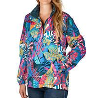 Lauren James Anorak Jacket Multicolor Water Resistant Women's Sz M-XXL NWT