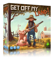 Get Off My Land + KSE Cards Tabletop Farming Board Game
