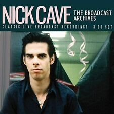 NICK CAVE 'THE BROADCAST ARCHIVES' 3 CD Set (6th Nov. 2020)