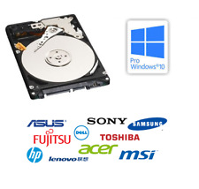 250GB sata 2.5 Hard Disk Drive For HP Dell IBM HP Toshiba Laptop Windows 10 Pro