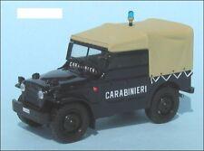 Fiat Campagnola AR 59 - Carabinieri 1:43 Scale Die Cast Model Car New