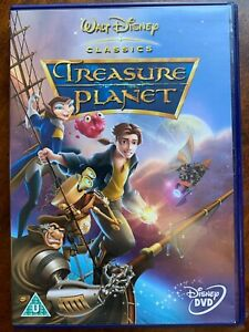Treasure Planet DVD 2002 Classic Walt Disney 42nd Animated Family Film Movie