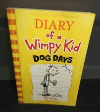 "DIARY OF A WIMPY KID  ""Dog Days"" Softcover Book"