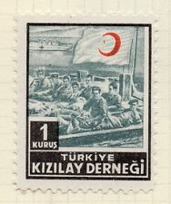 Turkey 1950s Child Welfare Early Issue Fine Mint Hinged 1K. 063124