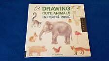 Drawing Cute Animals In Colored Pencil by Ai Akikusa (Paperback) - New & Sealed!