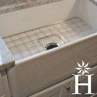 "30"" Fireclay Farmhouse Apron Kitchen Sink WHITE Center Drain - A Grade Quality!"