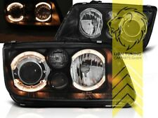 DEPO Angel Eyes Scheinwerfer für VW Bora Limousine Variant schwarz