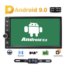 "7"" Smart Android 9.0 4G WiFi Double 2DIN Car Radio Stereo Multimedia Player GPS"