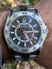 Orologio Watch Bulova Precisionist 300 Meters Broad Arrow