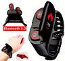 RELOJ INTELIGENTE Smart Watch presion arterial + Audifonos Auriculares 2 en 1