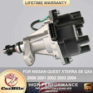 Ignition Distributor For Nissan Quest Xterra SE QX4 Pathfinder 3.3L V6 00-2004