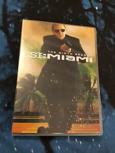 CSI Miami Complete Ninth Season Region 1 Dvd
