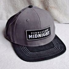 PENDLETON MIDNIGHT Whisky Whiskey Gray Adjustable Snapback Hat Cap