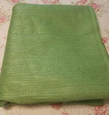 Chenille Upholstery 58� Fabric 4 Yds Avocado Green Mid-Century Vintage Nice!