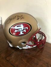 Jerry Rice Autographed Full Size Authentic Helmet Tristar