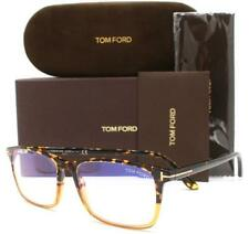 Tom Ford TF5584-B 5584-B Eyeglasses Amber Tortoise Yellow 055 Authentic 56mm