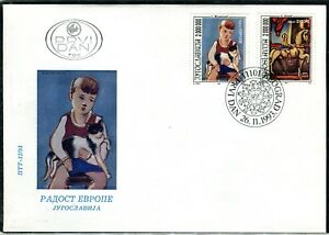 2635 - Yugoslavia 1993 - Joy of Europa - The Children in the Pictures - FDC