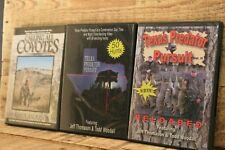CALLING PREDATORS COYOTES SET of 3 DVDs 140 HUNTS PREDATOR HUNTING FREE SHIP c1