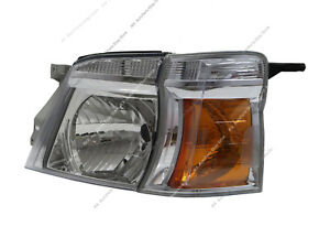 LEFT FACELIFT VAN Crystal Headlight o For NISSAN LHD Caravan Urvan E25 MK4 05-12
