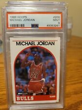 1989 Hoops Michael Jordan #200 psa mint 9 🐐