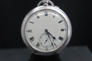 Pocket Watch Silver Cased , Recently Serviced