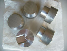 Aluminium AlCuMgPb Bohr- & Drehqualität 5 Reststücke Rundstab 65 mm
