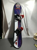 "Snowboard 50""x9"" With Bindings RARE**"