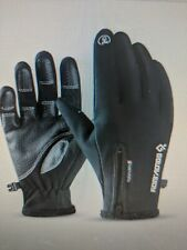 GOLOVEJOY Winter Gloves Fleece Thermal Warm Touch Screen Windproof 19 DB03 black