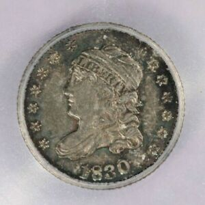 1830 Capped Bust Half Dime ICG MS61