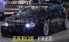 VW GOLF MK4 MK5 MK6 LED XENON WHITE SideLight BULBS 6500k NO ERRORS 12SM